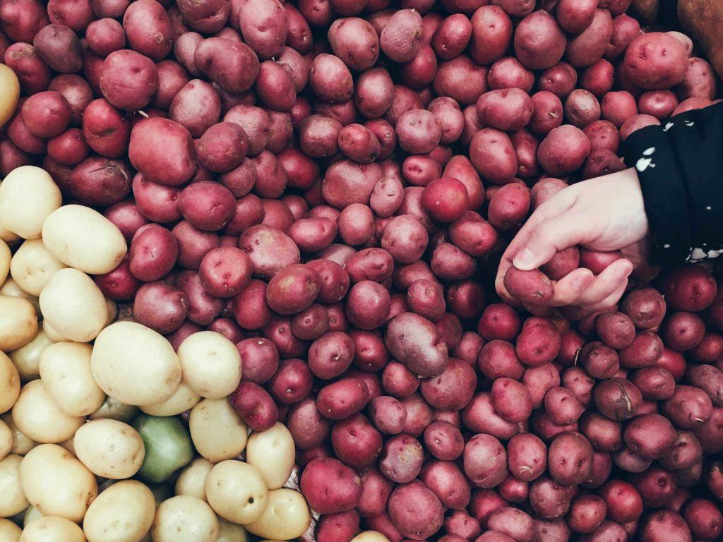 Choisir une pomme de terre