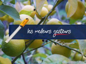 Meilleurs zesteurs de citron
