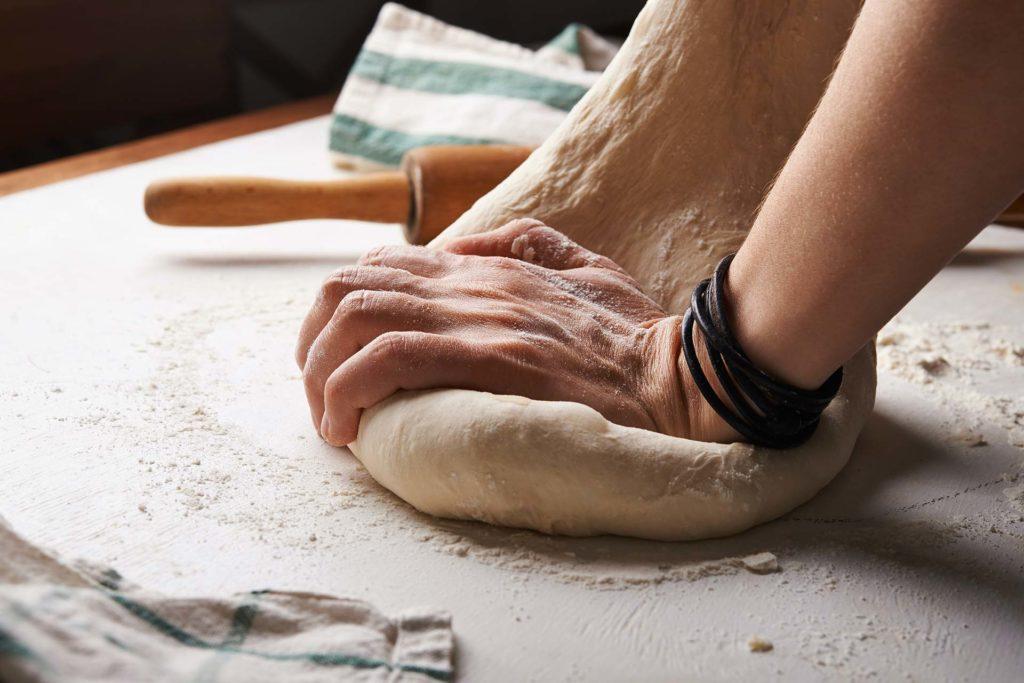 Pétrissage d'une pâte