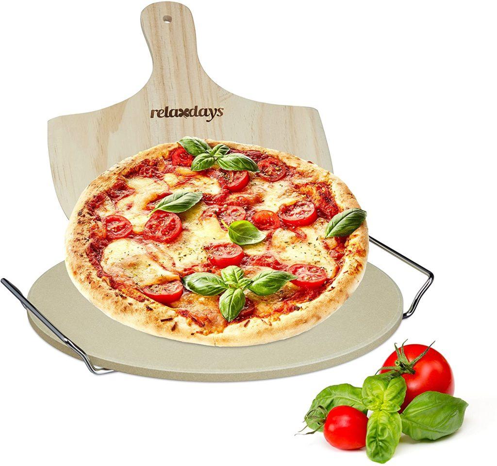 Pierre à pizza de Relaxdays