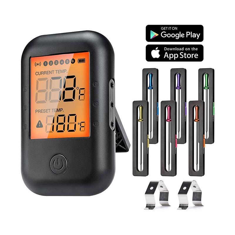 MUSCCCM Thermomètre à Viande numérique