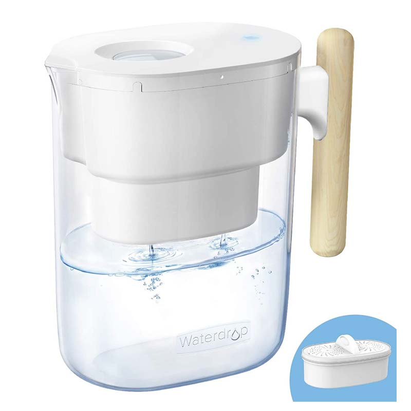Carafe filtrante pour eau Waterdrop Chubby