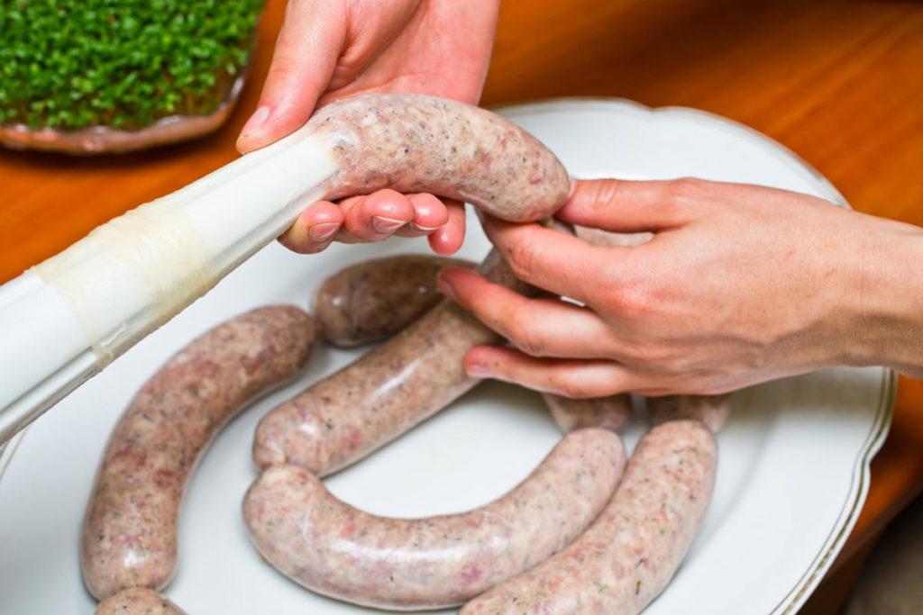 Fabrication artisanale de saucisses
