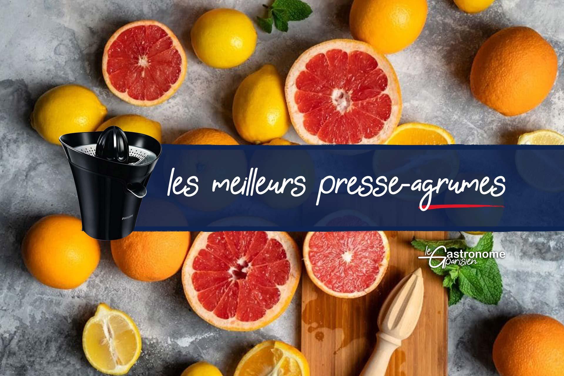 Les meilleurs presse agrumes électriques Le Parisien