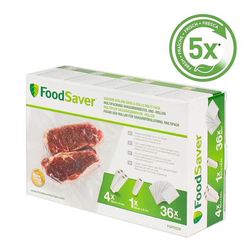 Sacs sous vide FoodSaver FGP252X