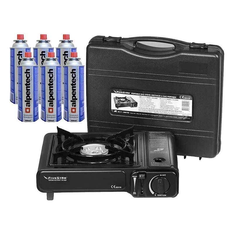 Rechaud portable 2.2 KW GAS BURNER FIVESTAR